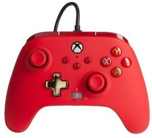 Пульт управления PowerA Enhanced Controller Xbox Series X/S Red