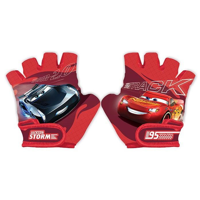 Велосипедные перчатки Disney Cars 3 9044, красный, XS