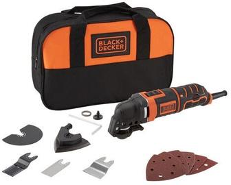 Slīpēšanas ierīce Black & Decker MT300SA2-QS Multifunctional Tool Set