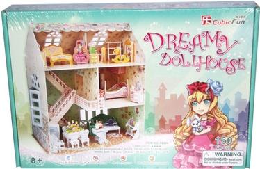 3D-pusle Cubicfun Dreamy Dollhouse 3D, 160 tk