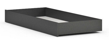 Black Red White Possi Bed Drawer 90 Gray Tungsten