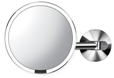 Peegel Simplehuman ST3015, valgustusega, riputatav, 35x23 cm