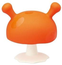 Mombella Mushroom Teether Orange
