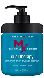 Kaukė plaukams Mediceuticals MX Dual Therapy Anti-Aging, 561 ml