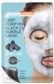 Purederm Deep Purifying Black O2 Bubble Mask Charcoal