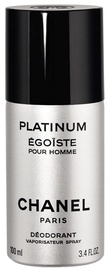 Chanel Platinum Egoiste 100ml Deodorant Spray