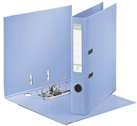 Esselte No.1 Solea Lever Arch File PP 5cm Light Blue