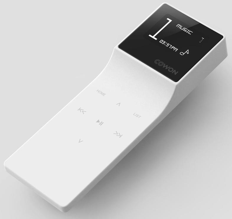 Музыкальный проигрыватель Cowon E3, белый, 8 ГБ