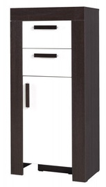 Jurek Meble Cezar Reg 8 Chest Of Drawers Milano/White