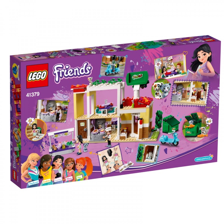 Lego Blocks Friends Heartlake City Restaurant 41379