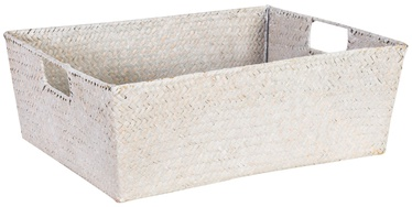 Home4you Basket Petra 1 40x31x14cm White