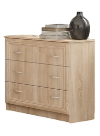 Mebel Service Sonata Chest Of Drawers Oak