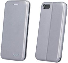 Beeyo Diva Series Book Case For Apple iPhone 7 Grey