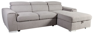 Home4you Corner Sofa Elba RC 28515 Light Grey