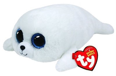 TY Beanie Boos Seal ICY White 24cm