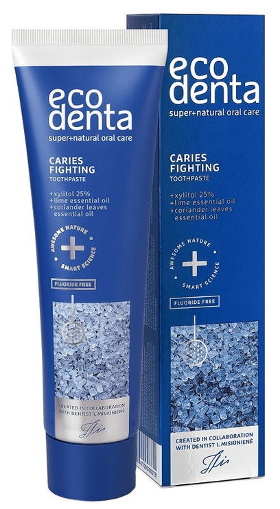 Dantų pasta Ecodenta Caries Fighting With Essential Oils 100ml