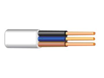 Lietkabelis BVV-P, 3 x 1 mm²