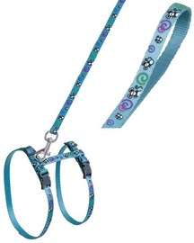 Karlie Flamingo Harness & Collar Turquoise