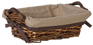 Home4you Basket Willi Home 29x19xH10cm Dark Brown