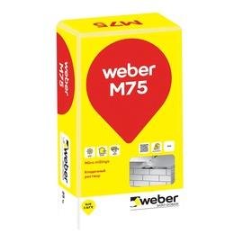 Mūro mišinys Weber M 75/7, 25 kg