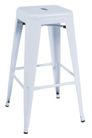Signal Meble Long Bar Stool White
