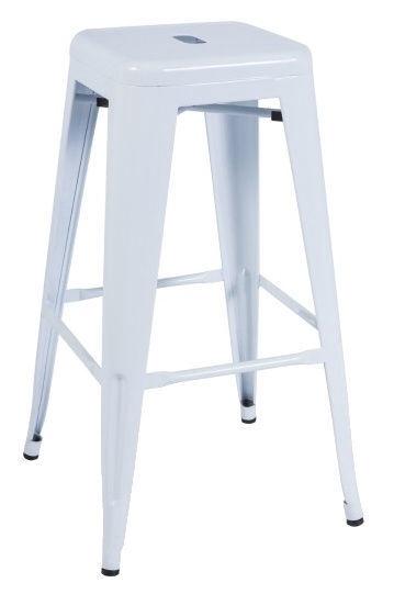 Signal Meble Long Bar Stool White