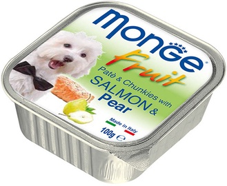 Monge Fruit Salmon/Pear 100g