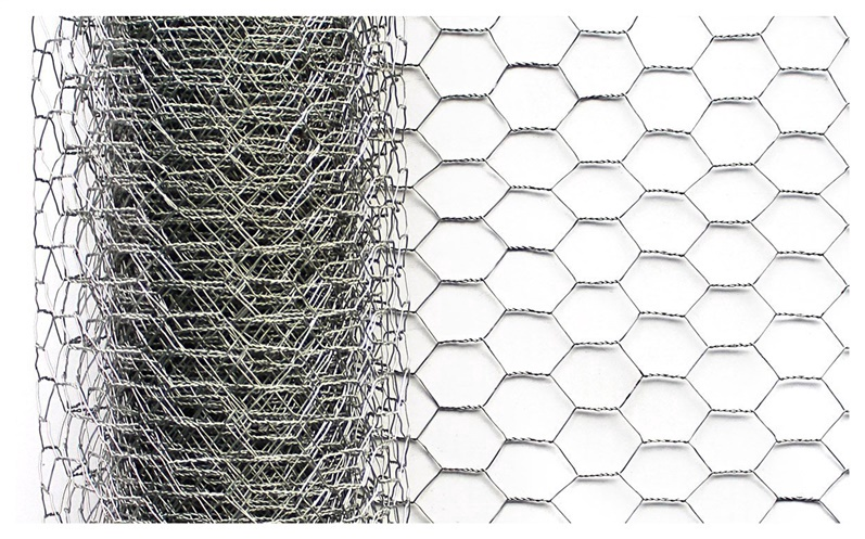 Punutud võrk Hex, 0,8x25x1000 mm, 25 m