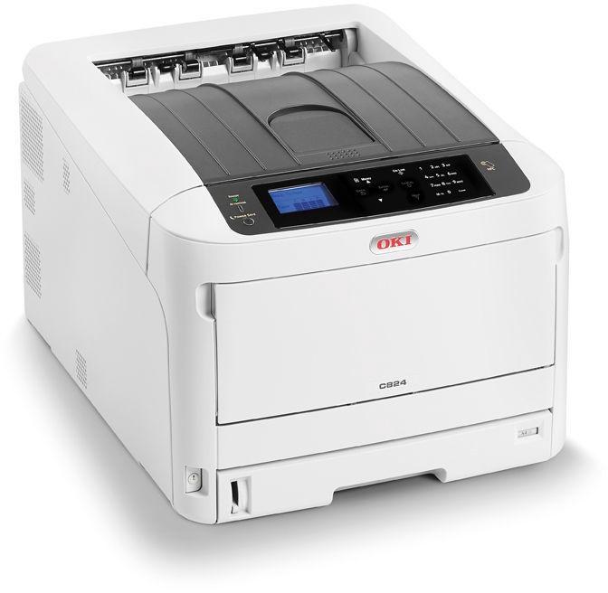 Светодиодный принтер Oki C844dnw, цветной