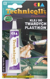 Technicqll Transparent Hard Plastic Glue 20ml