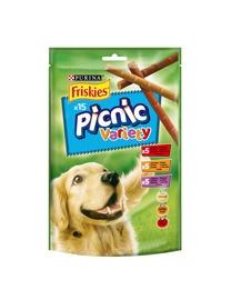 Skanėstai šunims Friskies Picnic Variety, su mėsa, 126 gr
