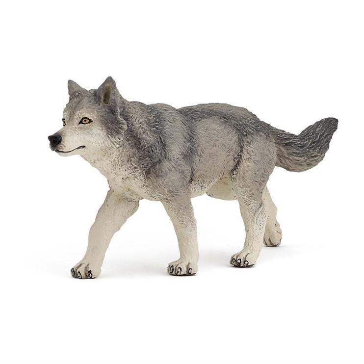 Dzīvnieku figūra Papo Grey Wolf 53012