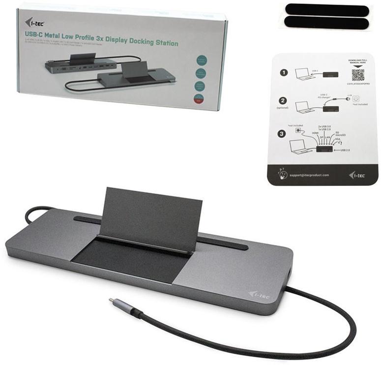 i-Tec USB-C Display Docking Station 85W