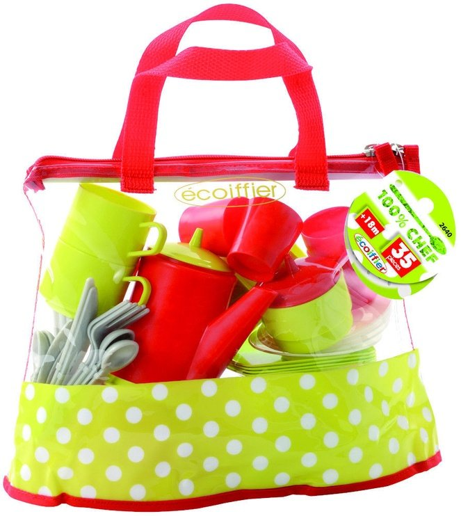 Ecoiffier Cookware Set In Bag 8/2640S