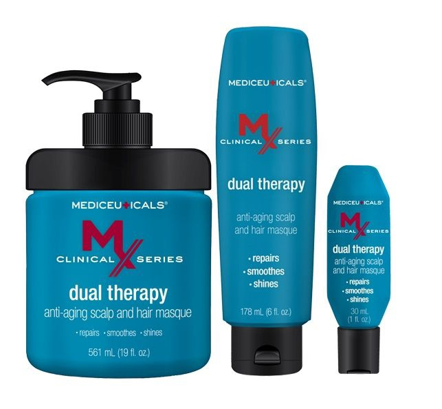 Mediceuticals MX Dual Therapy Anti-Aging Scalp and Hair Mask 561ml
