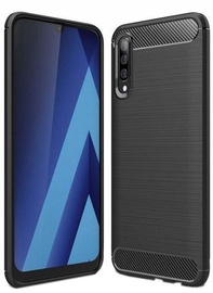 Hurtel Carbon Back Case For Samsung Galaxy A70 Black
