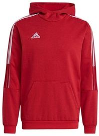 Adidas Tiro 21 Sweat Hoodie GM7353 Red 2XL