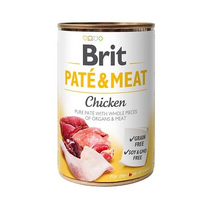Konservuotas ėdalas šunims Brit Care Boutiques Gourmandes, su vištiena 400 g