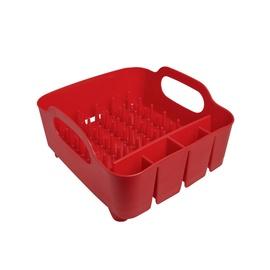 Umbra Tub Dish Rack Red
