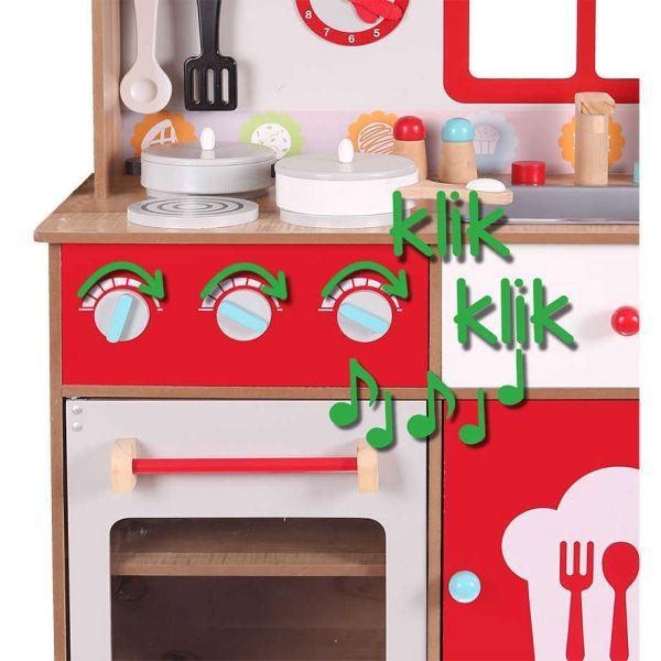 8bcf663de3d Gerardos Toys Wooden Kitchen Scarlet 41280 - Krauta.ee