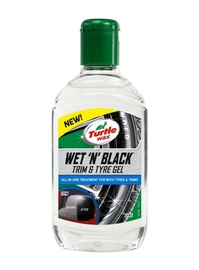 AUTO REHVIGEEL TURTLE WAX WETBLACK 300ML