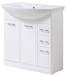 Шкаф для раковины Vento Rio & Izeo 75 820x360x720mm White