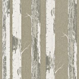 Tapetas flizelino pagrindu Rasch 574500 Selection Papier, žalsvas su beržais