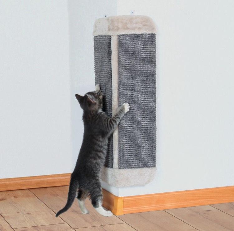 Когтеточка для кота Trixie 43435 for Corners Light Grey