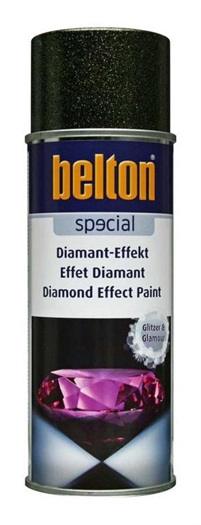 Aerosola krāsa ar dimanta efektu Belton, 400ml, zelta
