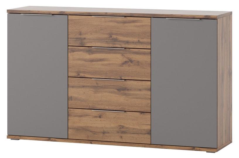 Szynaka Meble Livorno 45 Drawer 150x90x38cm Grey
