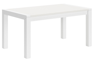 Black Red White Mezo Coffee Table White