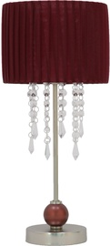 Home4you Luxo Table Lamp H45cm Red