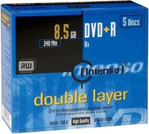 Intenso DVD+R DL 8x 8.5GB 5pcs. Jewel Case 4311245