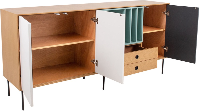 Home4you Emerald Chest Of Drawers Oak